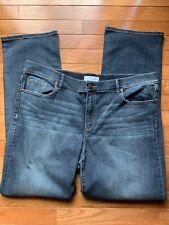 Ann Taylor LOFT Women's Modern Straight Blue Jeans Size 16 / 33