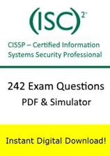 ISC2 CISSP Certified Info Systems Security Prof Exam (242 Questions PDF Sim)