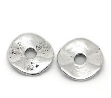 200 Perles intercalaire spacer Bijoux Pour Bracelet Collier 9mm