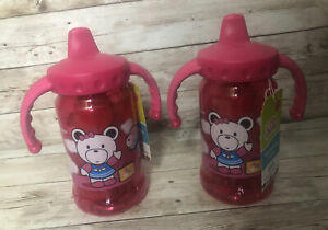 Boeing Jetsi and Jumbo Cool Gear Hydration  Sippy Cup New 12 Oz Gripper Sipper