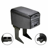 Grey Sliding Armrest Centre Console Box For Ford C-Max Cougar Fiesta Puma