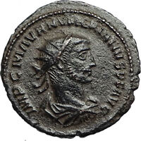 NUMERIAN w Carus VICTORY Globe Authentic Ancient 283AD Roman Coin Antioch i67269
