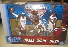 Miami Heat Nba Champions Figurines - official Nba Product - brand new in box