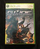 G.I. Joe The Rise of Cobra — Brand New! Factory Sealed! (Xbox 360, 2009)
