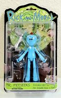 "2017 Funko Rick and Morty Mr Meeseeks 5"" Action Figure Adult Swim Snowball BAF"