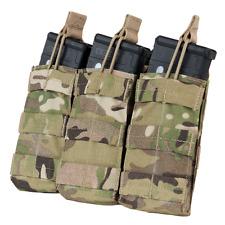 Condor MA27 MULTICAM MOLLE Triple Open Top M4 M16 AR15 Rifle Magazine Mag Pouch