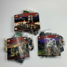 Lego Harry Potter 4840 The Burrow 4738 Hagrids Hut 4867 Hogwarts castle Complete
