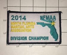 2014 North Florida Martial Arts Association Division Champion Patch - NFMAA