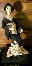 ⭐️ Japanese Antique Geisha Woman Lady Oyama Kimono Figure Doll - Superb! 🎏