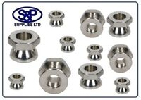 8MM  10MM  12MM SECURITY SHEAR NUTS STAINLESS STEEL TAMPER VANDAL PROOF