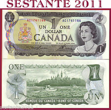 CANADA 1 DOLLAR 1973 - P 85a Tipe 1 ( 2 letters serial first issue ) - FDS / UNC