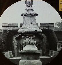 Windsor Castle Marble Vase, England, Antique Magic Lantern Glass Slide