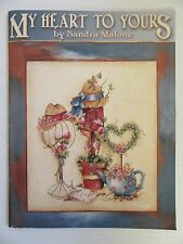 My Heart to Yours Painting Booklet Country Art Hats Garden Angels Bird Houses