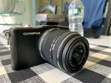 Olympus PEN E-PM1 12.3MP Digital Camera - Black Instagram Photo