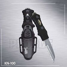 Scuba Dive Knife BCD Knife with Serrated edge Stainless Steel w/Sheath NEW KN100