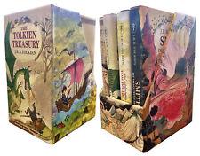 J. R. R. Tolkien The Tolkien Treasury Collection 4 Books Box Set NEW Roverandom