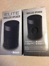 2 TWO Elite Black Wireless Bluetooth Speaker - Black (18WMS014-BLK)™