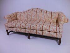 Chipendale Style Camelback Sofa Drexel Heritage Mid Century Modern Wormley Era