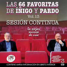 """LAS 66 FAVORITAS DE IÑIGO Y  PARDO VOL.13 """"SESION CONTINUA -3CD"""
