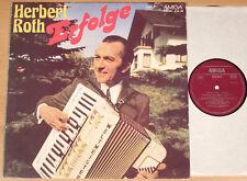 HERBERT ROTH - Erfolge  (AMIGA 1976 / Akkordeon / LP vg++/m-)