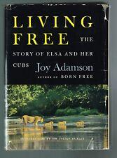 Living Free by Joy Adamson 1961 Hardcover 1st Edition