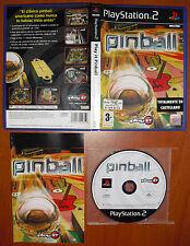 Play it Pinball, PlayStation 2 PS2 PStwo, Pal-España ¡¡COMPLETO Y COMO NUEVO!!