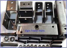 3,500 - 8,000 axle Slipper Hanger Kit for Tandem 14k Trailer  Center bolts