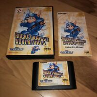 EX COND Sega Genesis Game ROCKET KNIGHT ADVENTURES Complete CIB Super Fun CLEAN