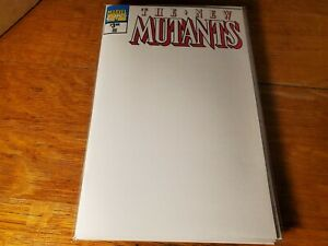 New Mutants #98 Facsimile Blank Sketch Unknown Variant Marvel NM Comics Book