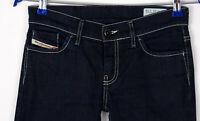 Diesel Damen Liv Stretch Slim Jeans Größe W26 L32 AKZ807