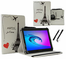 "Schutzhülle für Samsung Galaxy Tab 2 P511 Tablet Case 10.1"" 360 Paris eiffelturm"