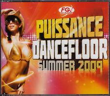 Compilation 4xCD Puissance Dancefloor Summer 2009 (EX+/EX+)
