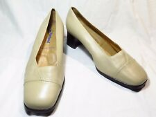 Portland Womens Shoes Leather Beige Size 8.5 NIB