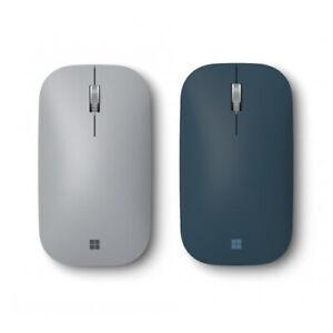 Surface Mobile Mouse Platinum + Surface Mobile Mouse Cobalt Blue - Wireless - Bl