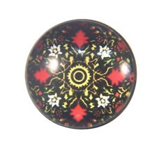 Snap Button Charms Ginger Snaps Buttons Chunk Charm Mandala Multi Black 12