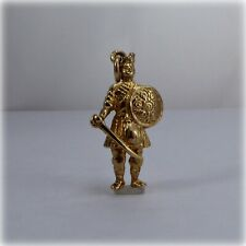 9ct Gold Scottish Highlander Charm