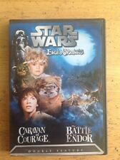 Star Wars Ewok Adventures: Caravan of Courage/The Battle for Endor (DVD,2004)NEW