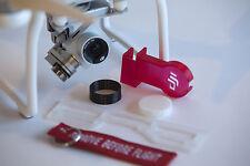 DJI Phantom 3 Standard Deluxe Flight Kit TRANSLUCENT RED (Standard ver only)