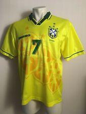 Brazil 1994 1997 Brasil Soccer Jersey Football Yellow BEbeto umbro # 10 shirt