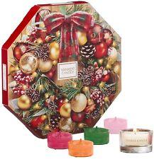Yankee Candle Calendario de Adviento Conjunto De Regalo De Navidad 24 luces de té perfumado & Holder