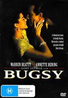 BUGSY WARREN BEATTY - Rare DVD Aus Stock New Region 4