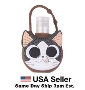 Silicone Bottle Holder Carrying Case for Mini 1oz Hand Sanitation Cat Kitten New