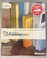 Microsoft Office Publisher 2003 Windows 32 English AE CD for Windows 2000 or XP