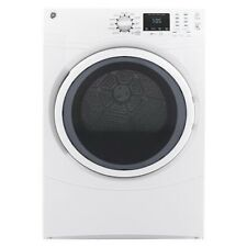 """Ge Gfd43Essmww 27"""" White Front Load Electric Dryer 7.5cu.ft. New"""