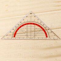 Geodreieck unzerbrechlich flexibel Geometrie Lineal BüroRul U8Y4 Schule O3D8