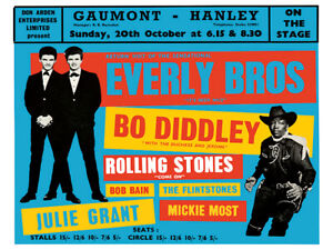 Sixties - Gaunt, Hanley - Everly Brothers - Bo Diddley - Rolling Stones - 1963