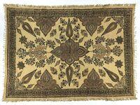 Beautiful Vintage Kalamkari Textile Tablecloth Wall Hanging Scarf