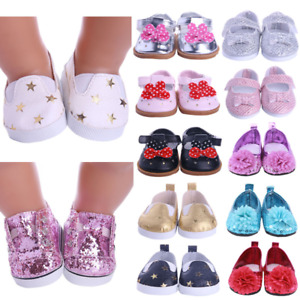 Doll Shoes Clothes Handmade Boots 7Cm Shoes For 18 Inch American&43Cm Baby New B