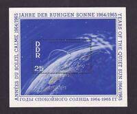 DDR #MiBl20 MNH S/S CV€7.00 1964 Calm Sun [745]