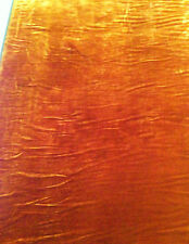 "Camel Silk velvet Fabric 54"" by the yard"